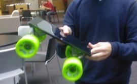 Таблетът Microsoft Surface се превръща в скейтборд