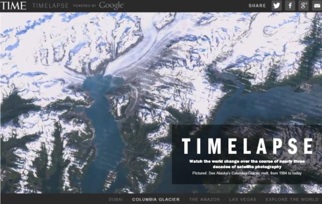 Google Timelapse визуализира промените на Земята през последните 28 години