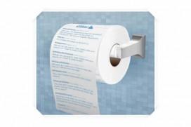 Тоалетна хартия с туитове