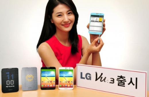 LG обяви официално фаблета LG Vu 3