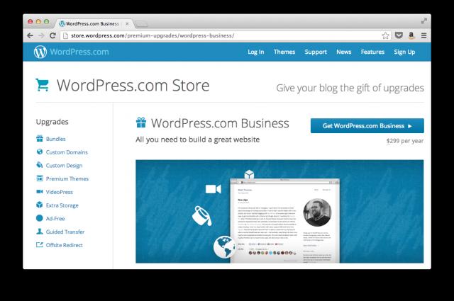 Направи си сайт с WordPress.com за $299