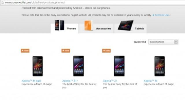 Sony Xperia Z1 Mini